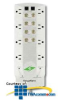ITW Linx SurgeGate DBS 8 Outlet Surge Protector -- ITW-M8DBS