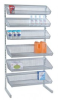 Wire Shelving - Partition Wall Systems - Complete Packages - Hang Bar - WS-SS36-12BC2