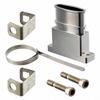 D-Sub, D-Shaped Connectors - Backshells, Hoods -- 1003-2391-ND - Image
