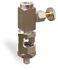 "Straight Heavy Duty Sight Feed Valve, 1/4"" Female NPT Inlet, 1/4"" Male NPT Outlet, Handwheel -- B749-1 -Image"