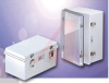 Enclosure; ABS/PC Blended Plastic; Polyurethane Gasket; Light Gray; NEMA1,2,4,4X -- 70148551