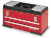 Tool Chest,20-1/2 Wx8-5/8 Dx11-1/4 H,Red -- 10J166