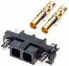2 Pos. Female SIL 12AWG Cable Conn. Kit, Jackscrews -- M80-4000000F1-02-325-00-000 - Image