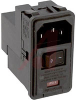 Module, Power Entry, 6 A, Snap-in, DPST, Dual Voltage/Switchable, Filtered -- 70185586