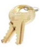 MASTER LOCK CUT MASTER KEY FOR THE #3 LAMINATED STEEL PADLOCK -- IBI714972