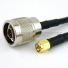 N Male to SMA Male Cable RG-223 Coax in 24 Inch -- FMC0102223-24 -Image