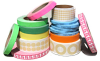 Masking/Paper Tapes -- SGOP Semi-Gloss Paper w/ Black Adhesive & 40# Liner Label