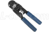 10P10C (RJ50) Crimp Tool w/Cut and Strip Function -- HTS9000 - Image