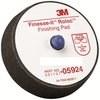 3M Finesse-It Black Pad Quick Change Attachment - 3 in Diameter - 05924 -- 051131-05924 - Image