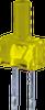 2MM FLAT TOP YEL.LED -- WP13YD