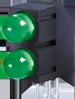 5MM.2 POS.RA.GRN LED -- WP1503EB/2GD