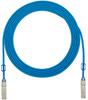 Direct Attach Copper Cable Assemblies : QSFP+ 40GBASE-CR4 Cable Assemblies -- PQSFPXA0.5MBU
