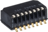 Half-pitch Side-Actuated DIP Switches -- TDP Series