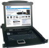 NetDirector 16-Port 1U Rack-Mount Console KVM Switch with 17-in. LCD -- B020-016-17