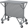 Steel Bin Cart System With Casters -- 30812