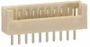 10 Pos. Male SIL Vertical Throughboard Conn. -- M30-6101046 - Image