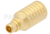 1 Watt RF Load Up to 6 GHz With MMCX Male Input Gold Plated Brass -- PE6199 -Image